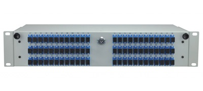 "Telescopic Fiber Optic Distribution Frame 19"" 3U Q-Fiber"